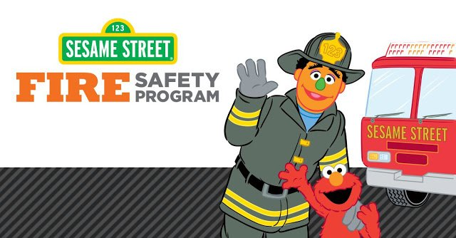 FREE Sesame Street Fire Safety Station Color and Learn Booklet - FREEBIES