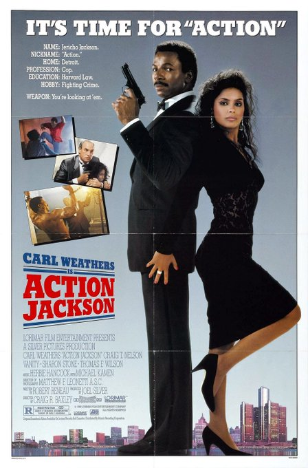 Action Jackson (with Carl Weathers) is one of my favorites. Happy Birthday, Vanity. RIP!