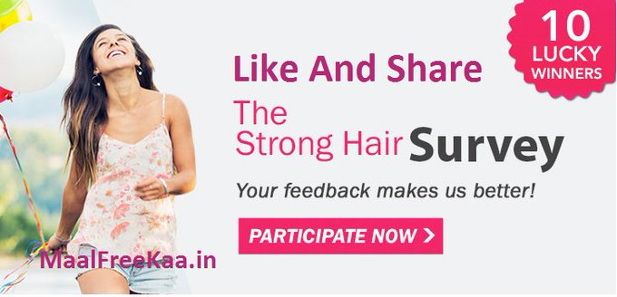 Strong Hair Take Survey Win Free Shopping Vouchers