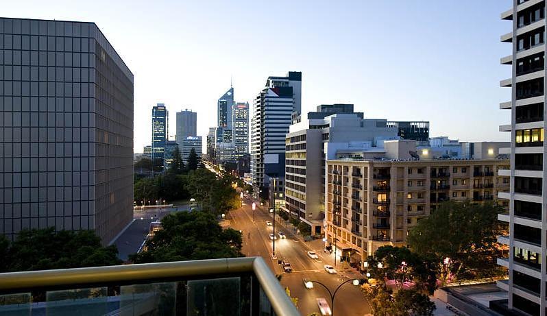Perth's property market decline eases