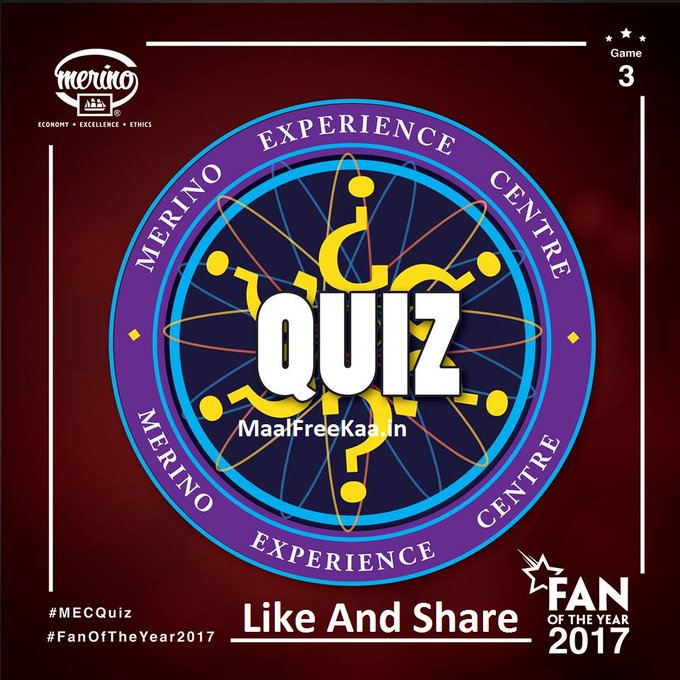 Quiz Time Answer & Win Amazon Gift Card