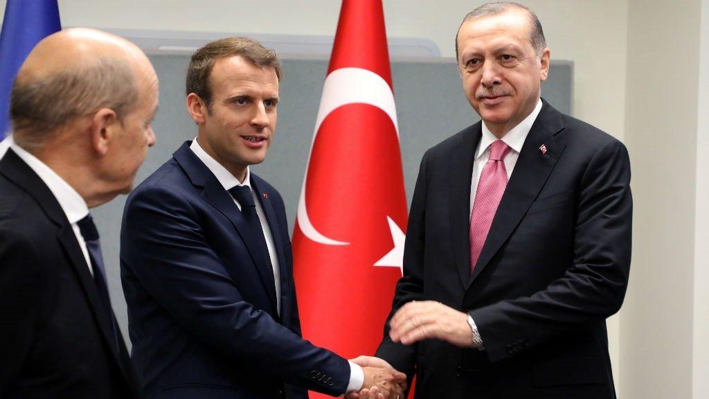 Live: Macron welcomes Turkish President Erdogan for talks in Paris