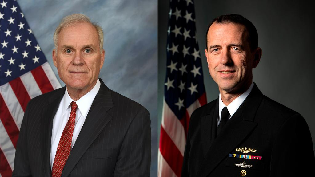 "LIVE 3:30P ET: @SECNAV76 and @CNORichardson testify before #HASC Readiness and Seapower Subcommittees on ""Surface Warfare at a Crossroads"" - https://t.co/dOrhX2lNpZ @SurfaceWarriors https://t.co/l5BrlQe61h"