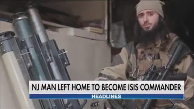 NJ man reportedly leaves home to become ISIS commander https://t.co/D8d0voOlhR