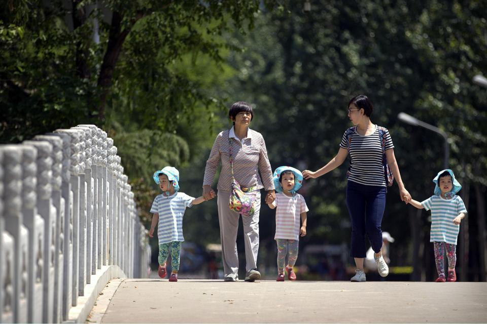 China's birthrate dropped last year despite allowing couples to have two children