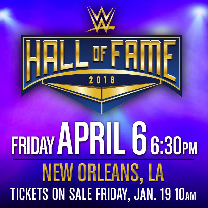 RT @WrestleMania: Hey @WWE Universe! Hall of Fame tickets are now ON SALE! https://t.co/YMykBvNdSb https://t.co/JTBrPb9Jv8