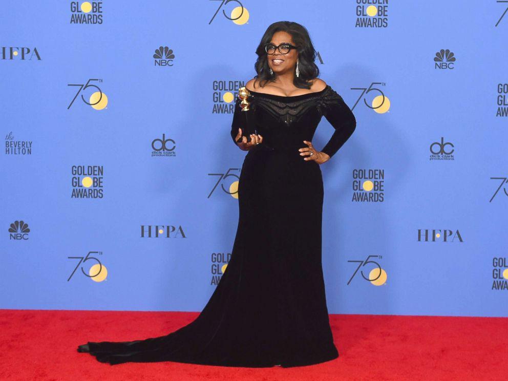 #GoldenGlobes: Stars react to Oprah Winfrey presidency after rousing acceptance speech: https://t.co/E7qulTVk22 https://t.co/eg3fyTAOn8