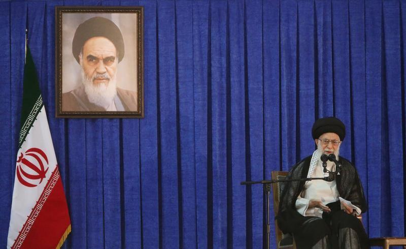 U.S. and Britain failed to cause Iran unrest: Khamenei
