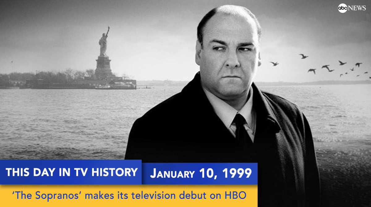 'The Sopranos' made its television debut on this day 19 years ago. https://t.co/IJEggR0aUG