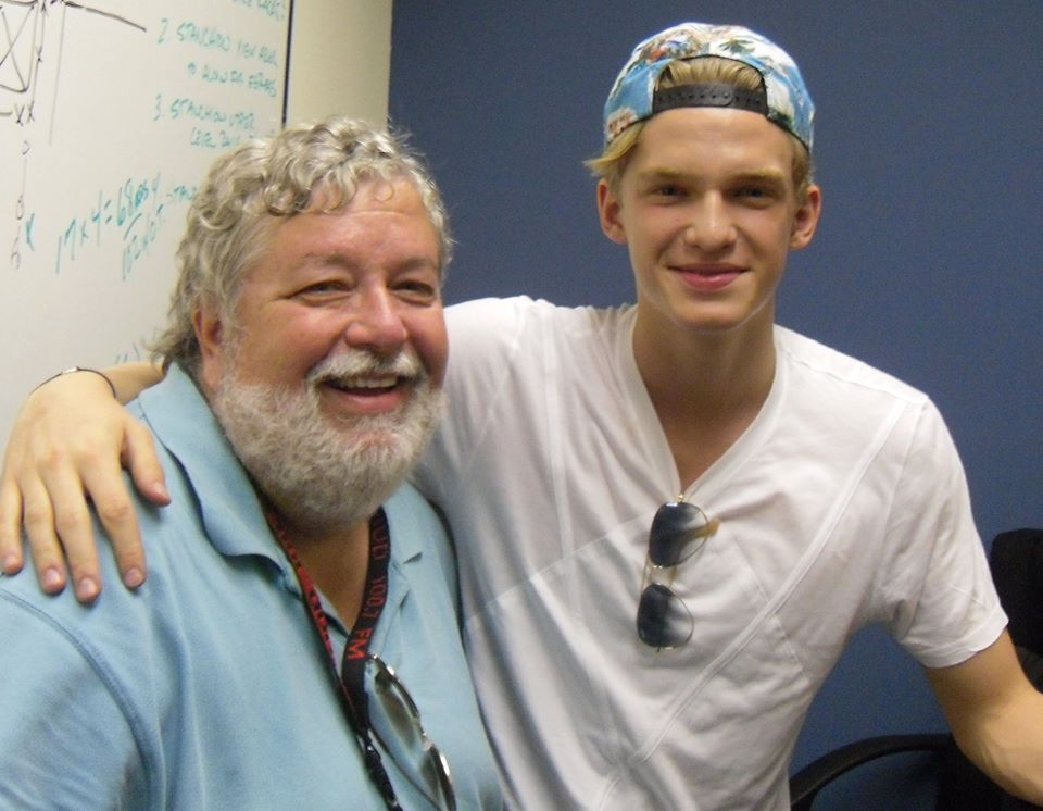 Happy 21st birthday to Cody Simpson....you might remember him from Dancing With The Stars!