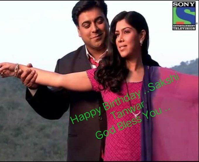 Happy Birthday         Sakshi Tanwar  God Bless You