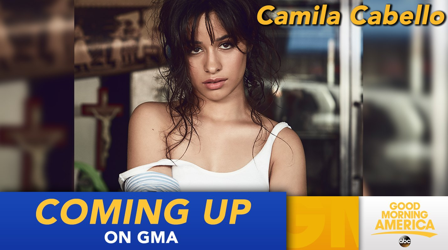 COMING UP: @Camila_Cabello performs LIVE in Times Square this morning! #CAMILAxGMA #ThisIsCAMILA https://t.co/tsIREnIuMh