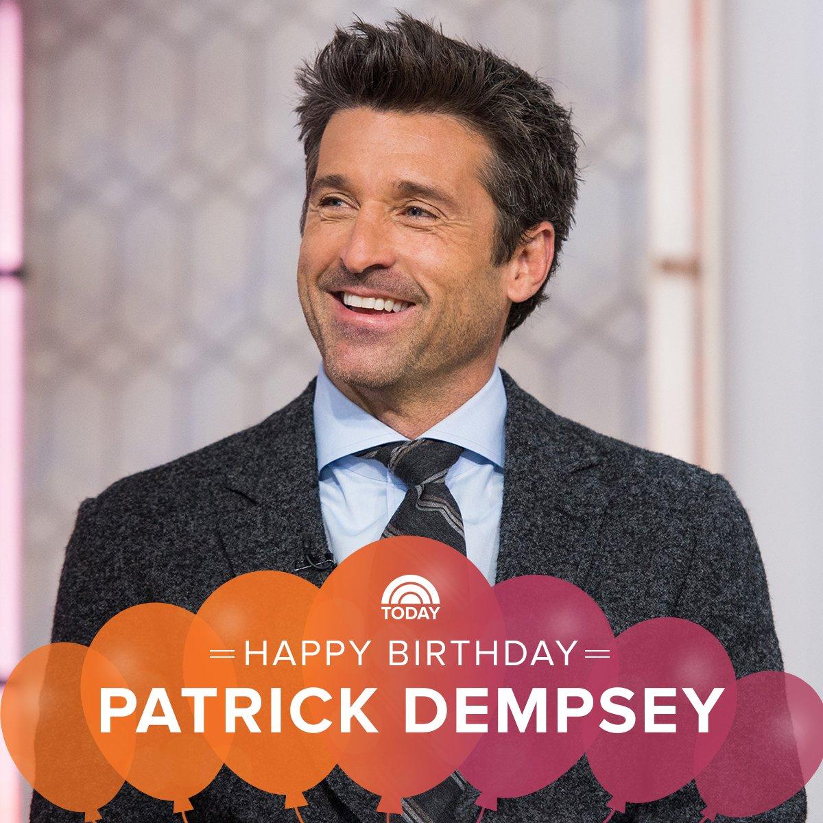 Happy birthday, Patrick Dempsey!
