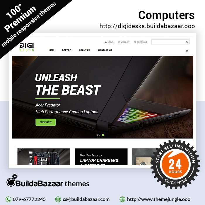 test Twitter Media - In this tech-savvy world make sure your #onlinestore catches the eye of everyone. Computers theme at https://t.co/bH01QTwNml not only makes ur store attractive but also easy to navigate. #infibeam #buildabazaar #themejungle #buildabazaarthemes  https://t.co/9urUxoZ2Q7 https://t.co/UGJnrKwVaQ