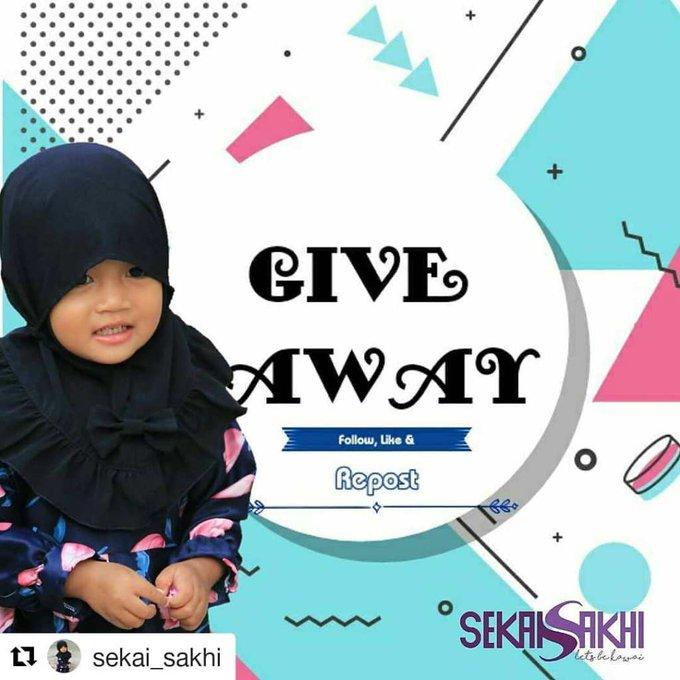 #sakhiga1 Naira,2m,Bandung  #sakhi_chan#giveaway#sakhiga1#gamisanak#gamislucu#ga…