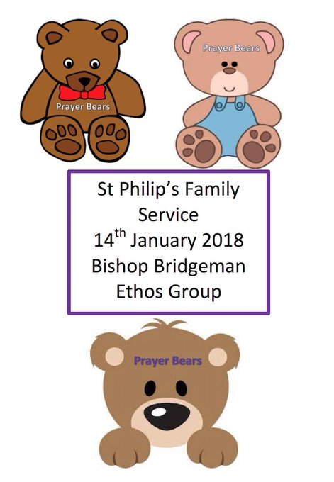 RT @Mrs_Pilling: St Philip's family service Sunday 14th January. 10am at school or 10.30am at church ⛪. All welcome. https://t.co/sWu9aqVcQP