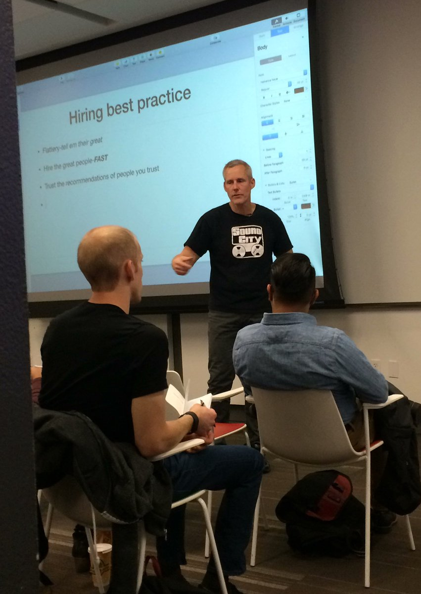 Hiring with @uxcrank #uxcampdc https://t.co/ggmqPOIPJi