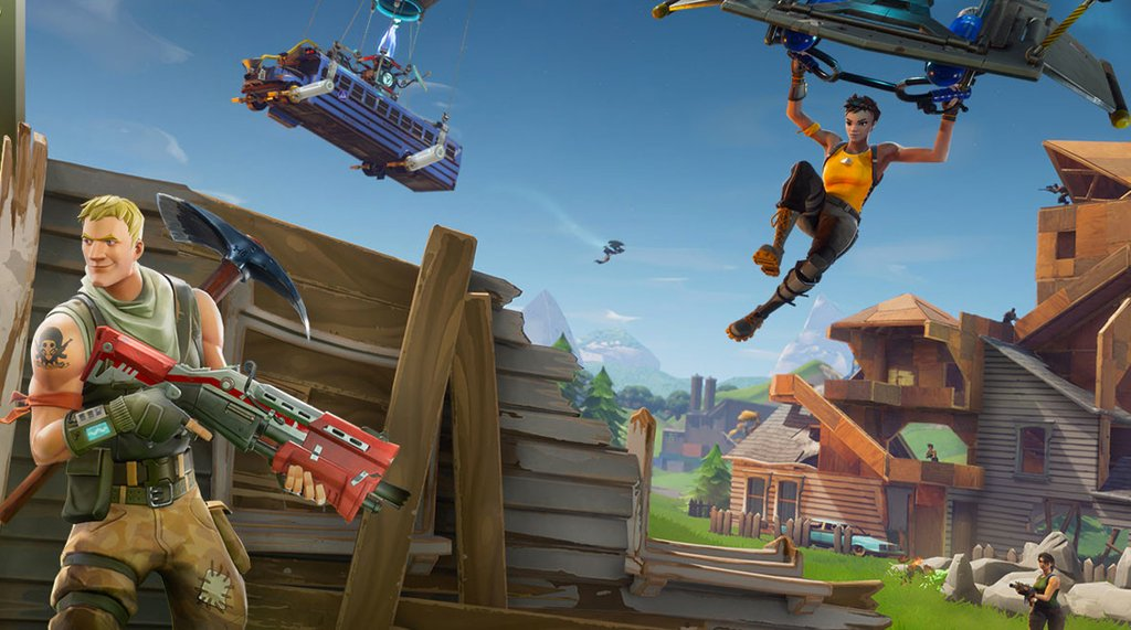Fortnite: Battle Royale Revamps Its Map With New Areas And Improvements Next Week https://t.co/c6sj2UAGXE https://t.co/9zzn31Ybgs