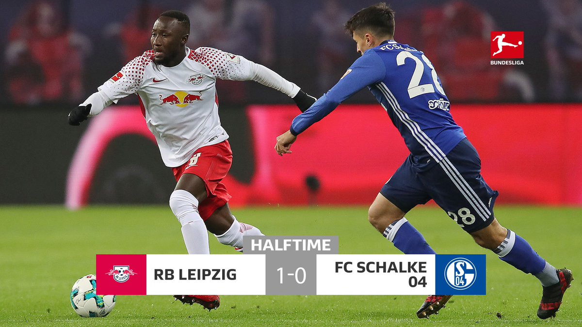 A missed penalty, quickly followed by a deflected goal... @RBLeipzig_EN lead at the break! #RBLS04 https://t.co/3QlARXro5T