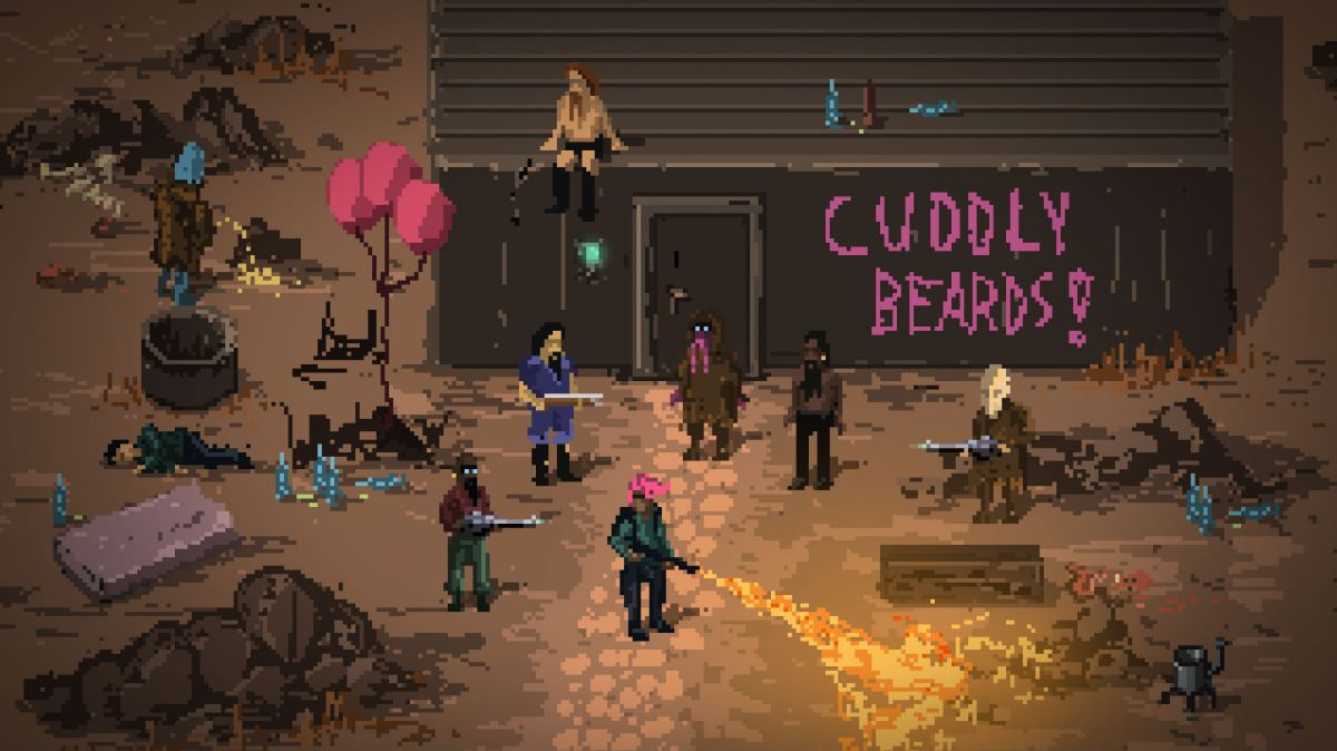 Death Trash is a post-apocalyptic RPG filled with profanity, gore, and puke https://t.co/V2dpwWNLMa https://t.co/QXrkAvvRVL