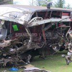 Four people die in accident involving bus and lorry along Garissa-Wajir road