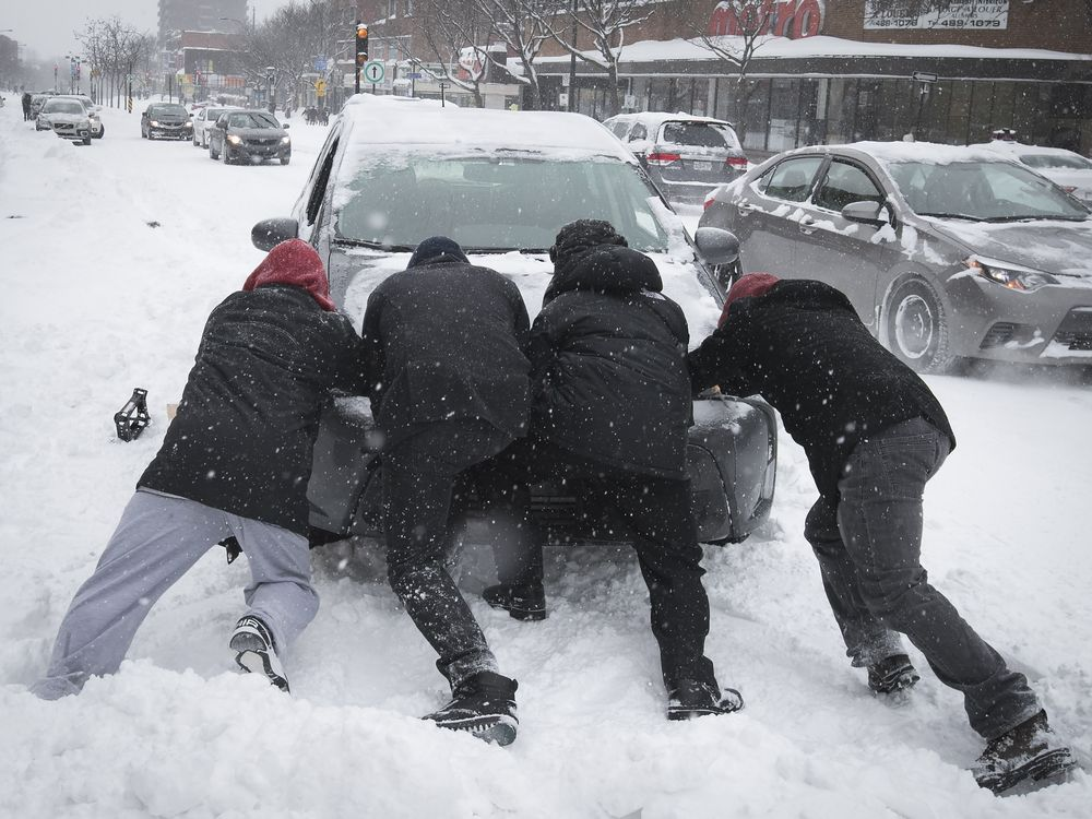 Cleanup time – again – after Montreal blanketed by winter storm