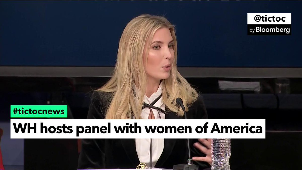 RT @tictoc: Ivanka Trump wants women and minorities to be equally represented in STEM fields #tictocnews https://t.co/yiwSko39Z4