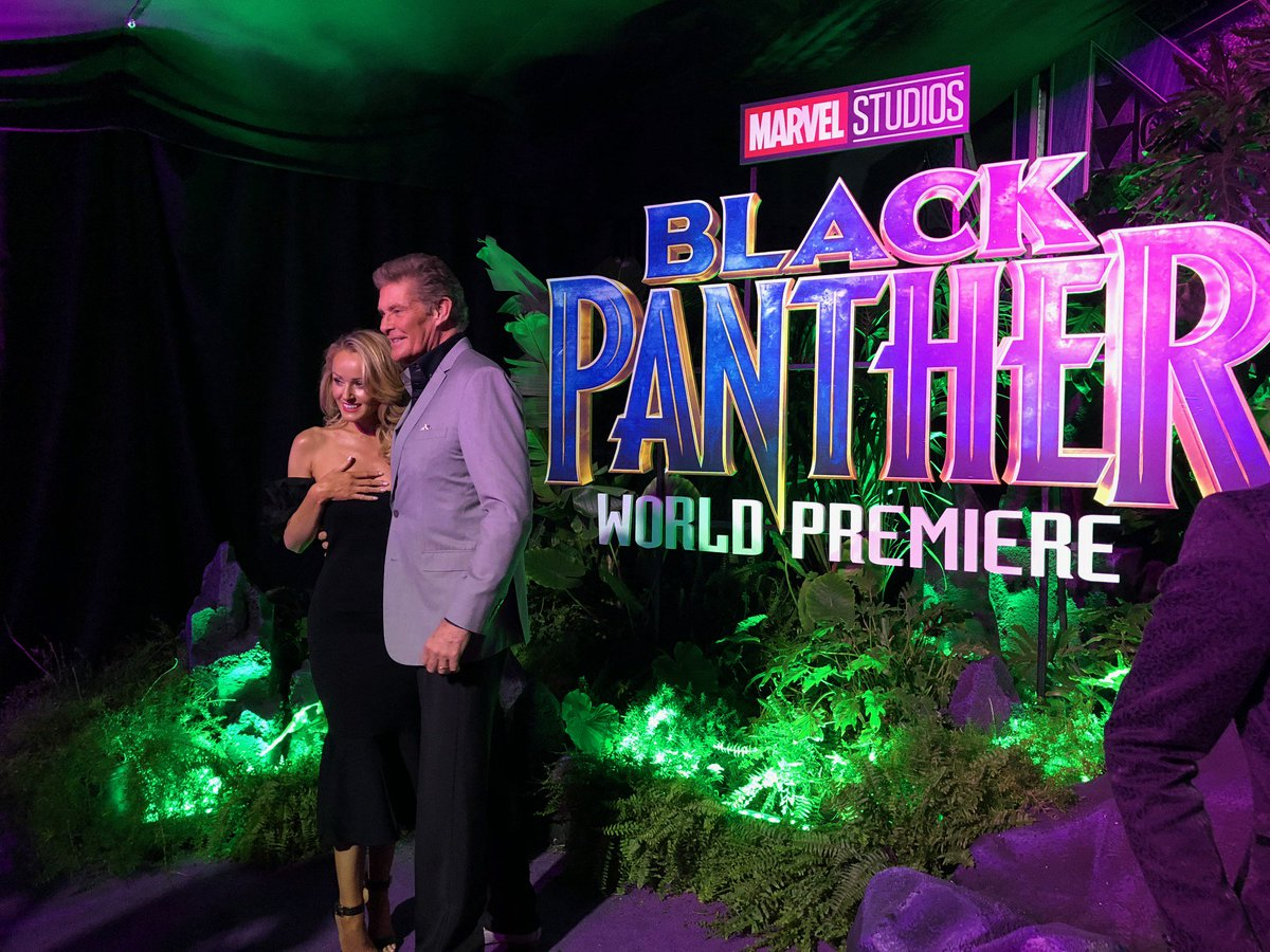 Love Marvel's Black Panther and simply adore Stan Lee!  @RealStanLee  #Marvel #BlackPanther #BlackPantherPremiere https://t.co/d8ds5TACQ4