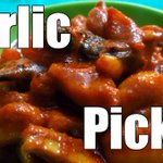 Garlic Pickle (Quickie) | Simple Indian Recipes #20