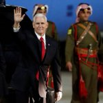 WATCH: Pence tells Egypt's Sisi that two-state solution still possible