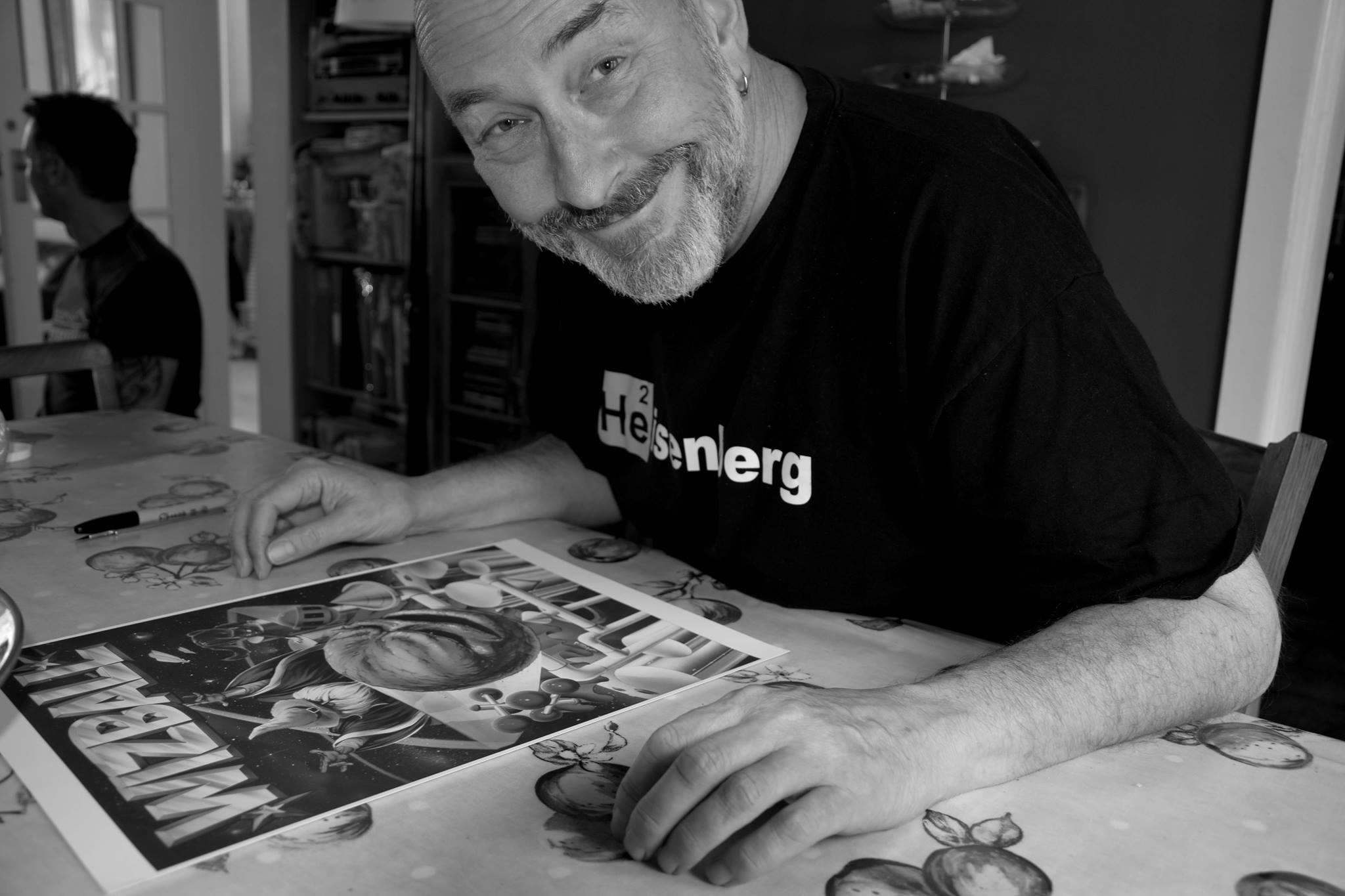 Hoy hemos amanecido con la triste noticia del fallecimiento de #BobWakelin, el grandísimo artista que firmó la mayoría de portadas de #Ocean. Te recordaremos eternamente. Descanse en paz, maestro. https://t.co/cYXPVKkKRk