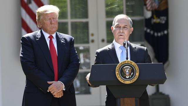 Ex-EPA head: EPA will take decades to recover from the Trump admin https://t.co/Cr2ahxOB43 https://t.co/OWkb5WPdkN