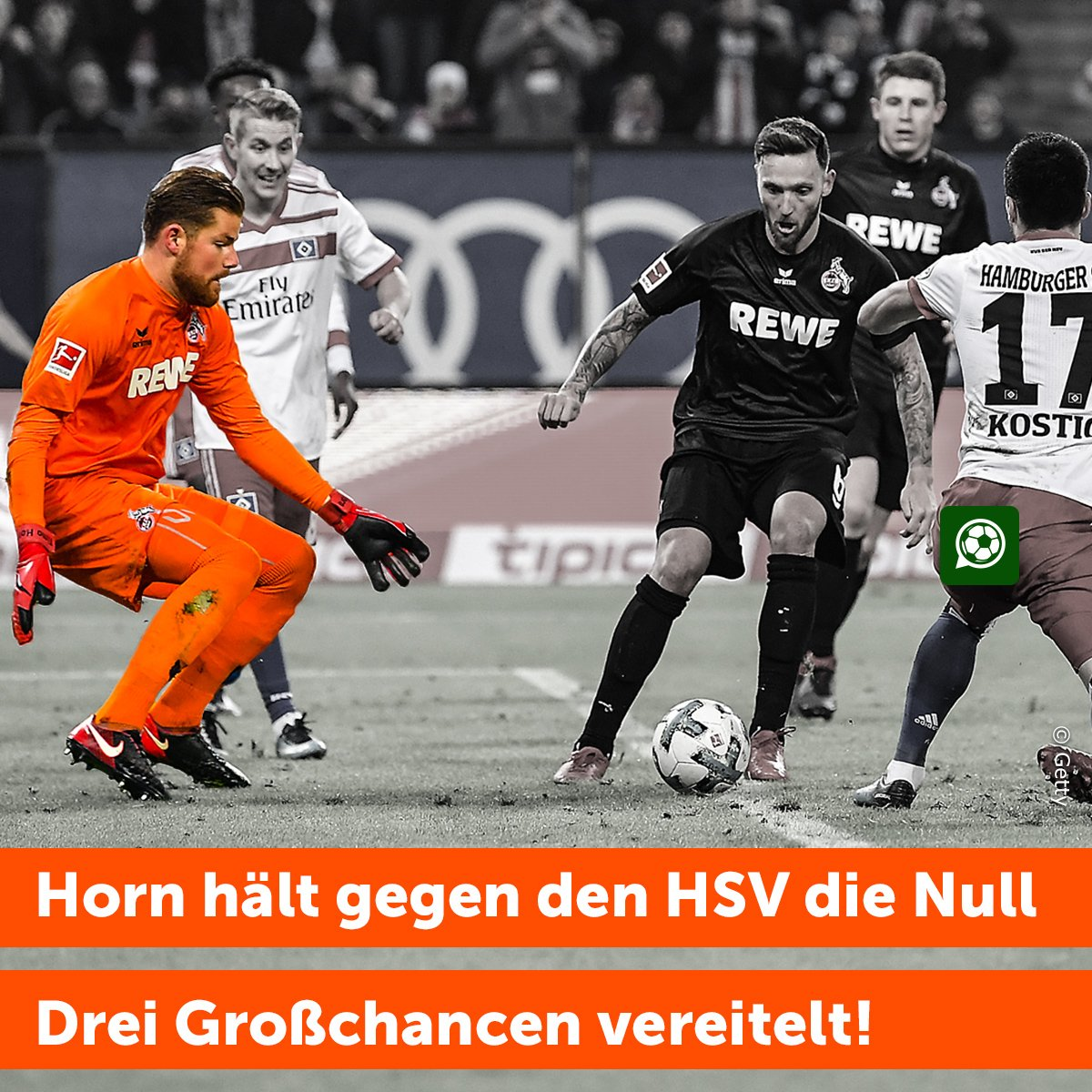 Überragendes Spiel gestern von #Horn! Jogi?!?  #HSVKOE #effzeh https://t.co/qjIKmazHk3