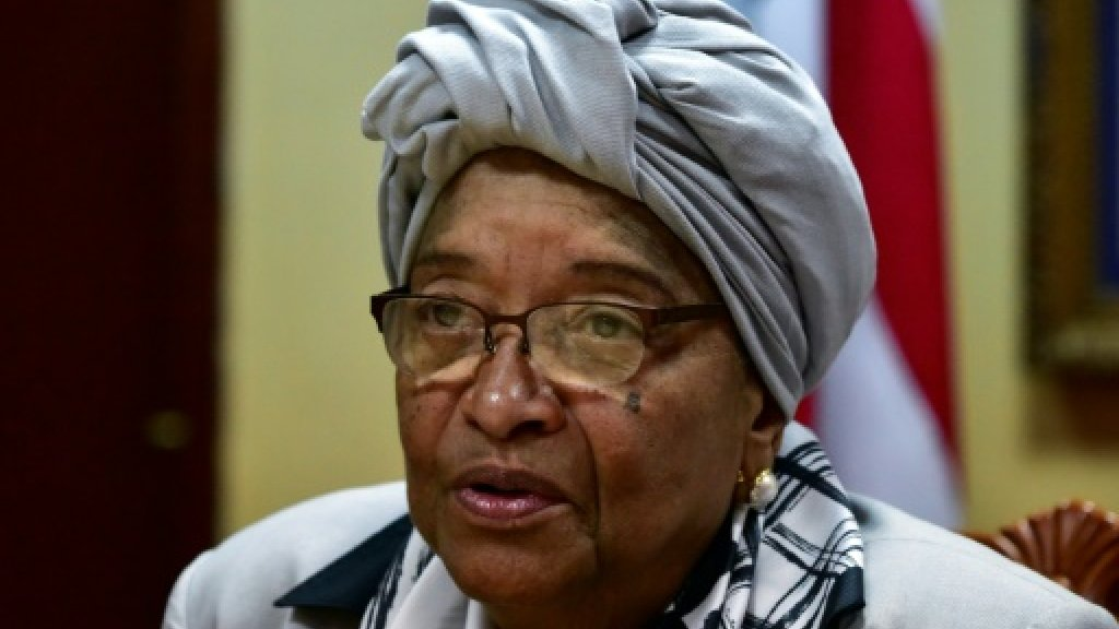 Liberia's Sirleaf: Africa's first elected female leader