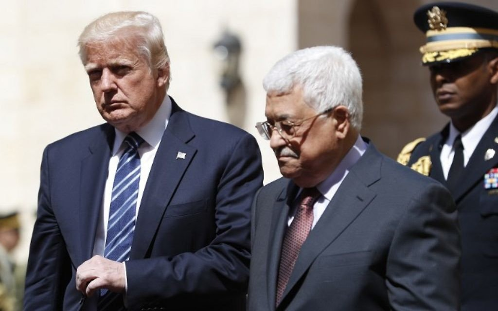 Pence said to ask Egypt, Jordan to coax Palestinians back to table