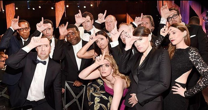 From last year's losers to this year's SAGAwards winners for Best Comedy Ensemble: Veep!