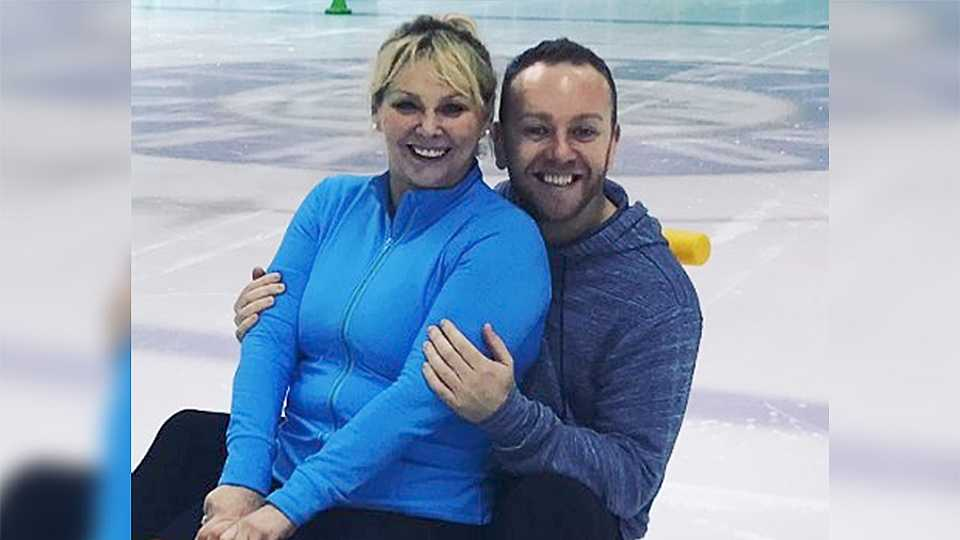 Cheryl Baker has moved her Dancing On Ice partner Dan Whiston into her HOME