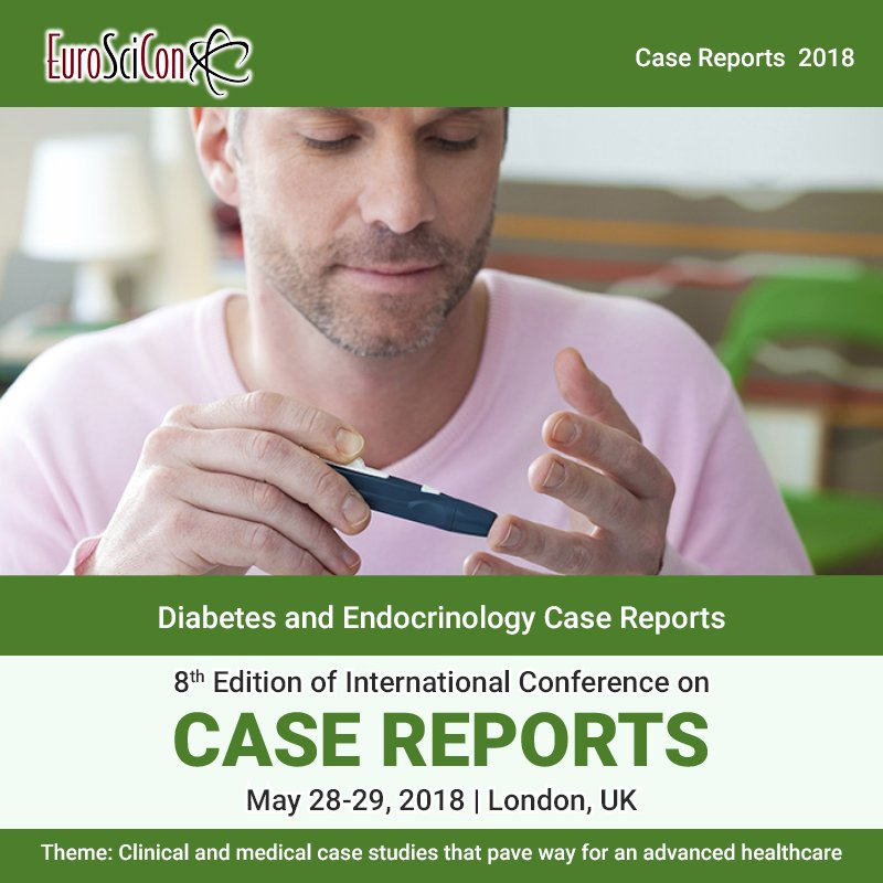 test Twitter Media - Case Reports in #Diabetes and #Endocrinology at the #CaseReports-2018. Submit your abstracts at https://t.co/E7FU96HVoK. #type1diabetes #type2diabetes #gestationaldiabetes #diabetescure Visit : https://t.co/gqb5uPD2gO https://t.co/T0Q3s7bzpW