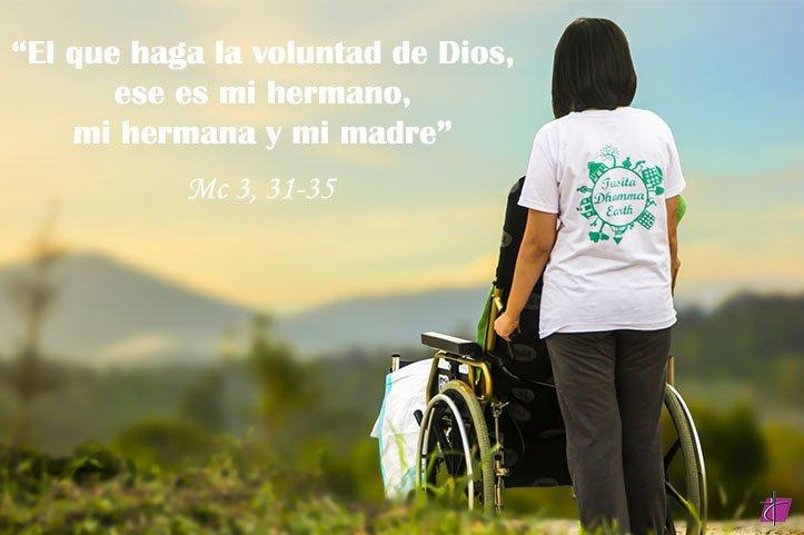 EVANGELIO | Mc 3  31 35  El qu mc 3