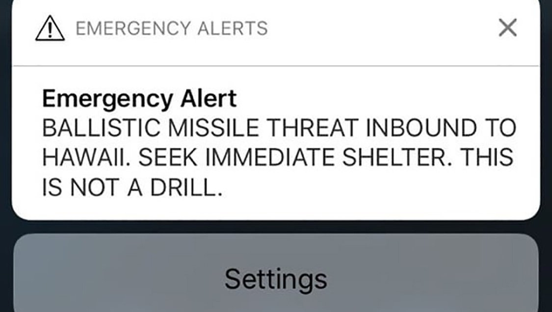 Hawaii's governor couldn't fix false missile alert sooner because he forgot Twitter password