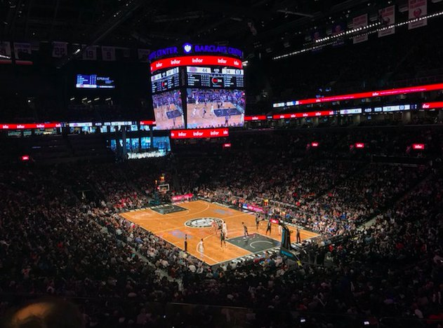 Together, Infor and the Brooklyn Nets are a slam dunk. https://t.co/kLljkE6ZUH #NRF2018 #LeaveYourLegacy https://t.co/ObAWLfZ0rd