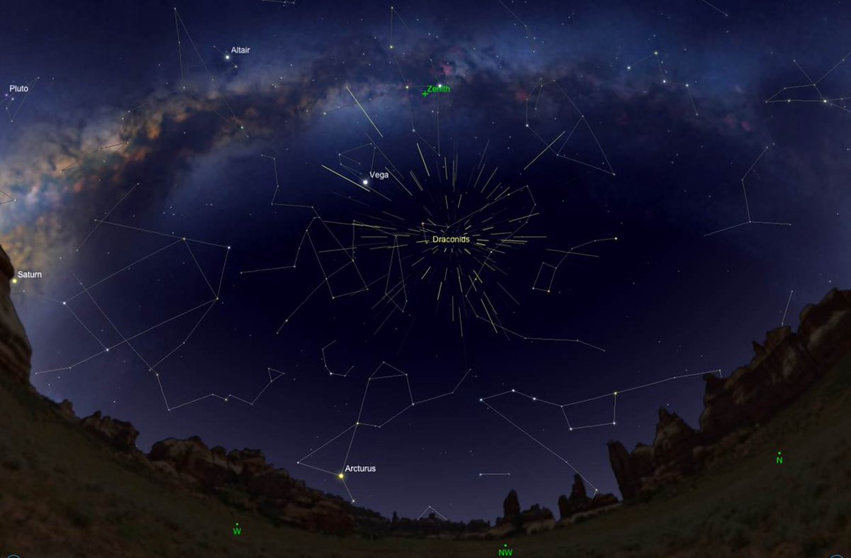 Draconid Meteor Shower 2018: When, Where and How to Watch the Unpredictable 'Shooting Star' Display https://t.co/GkDWHJIlsV https://t.co/qFPlahFUzT