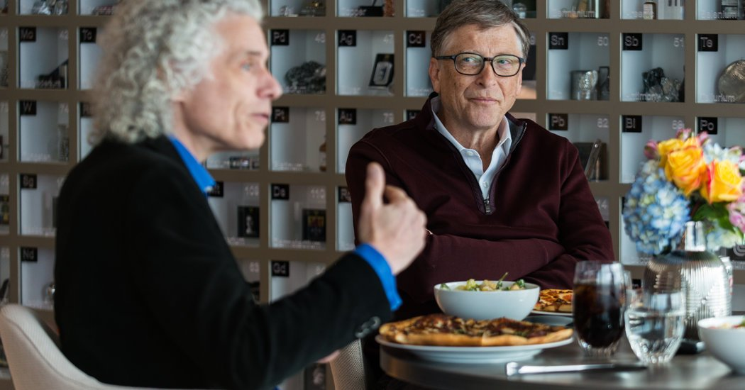 The Mind Meld of Bill Gates and Steven Pinker