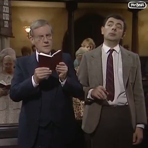 Sunday singalong? 🎵#mrbean https://t.co/H0u2lK70kP