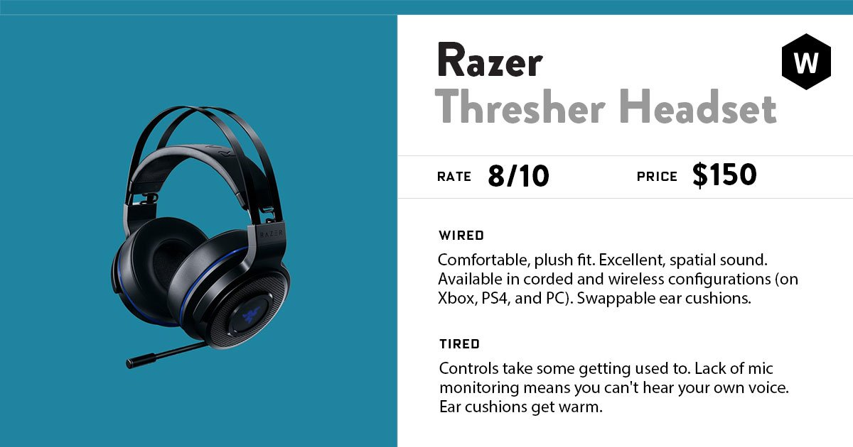 Razer has given gamers a lot to like with the Thresher headset. Our review: https://t.co/YXSwtHvxqu https://t.co/qFwB4Q1jfY