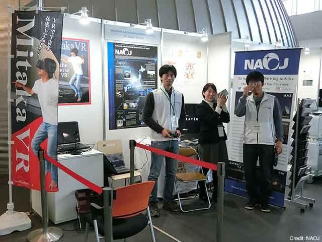 【トピックス】2017年11月15日から17日にかけて日本科学未来館で行われた世界科学館サミットに国立天文台がブース出展しました https://t.co/cpNBZ9N4Ly #国立天文台 https://t.co/OUOIo5YLkd