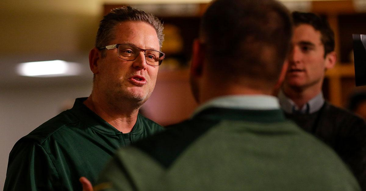 New #Packers QB coach Frank Cignetti's ties to Mike McCarthy go back to the beginning.  ��: https://t.co/h3CWE5M6l4 https://t.co/5tgAD6MHPr