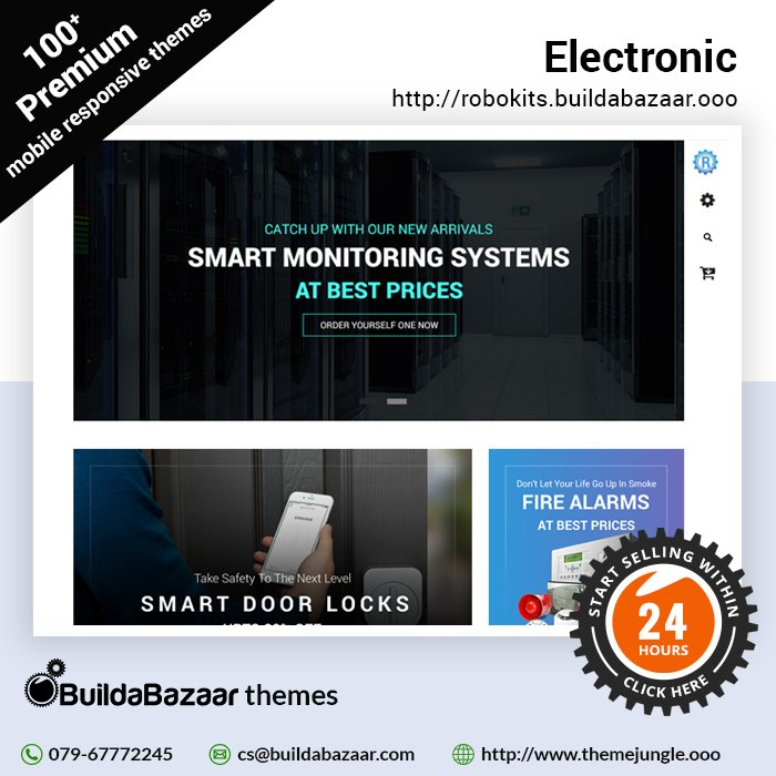 test Twitter Media - Buying electronics online is now the new trend. Go with the flow and create your online electronics store with #BuildaBazaar's SaaS platform.  #themejungle #infibeam #ecommercetheme #websitetheme https://t.co/vGD58JGawf https://t.co/f1QtrzGeOF