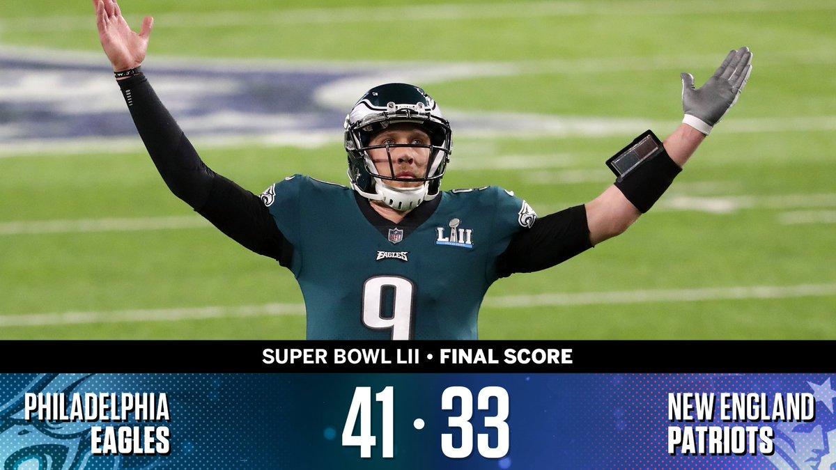 RT @SportsCenter: The Philadelphia Eagles have done it! https://t.co/uT8aErG78L
