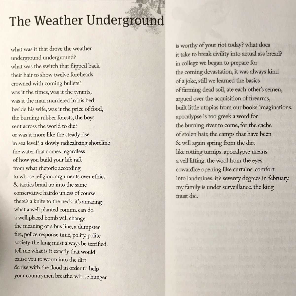 test Twitter Media - RT @samsax1: Here's my poem that won @Gulf_Coast poetry prize. Super honored. https://t.co/zx3YMDfOk6
